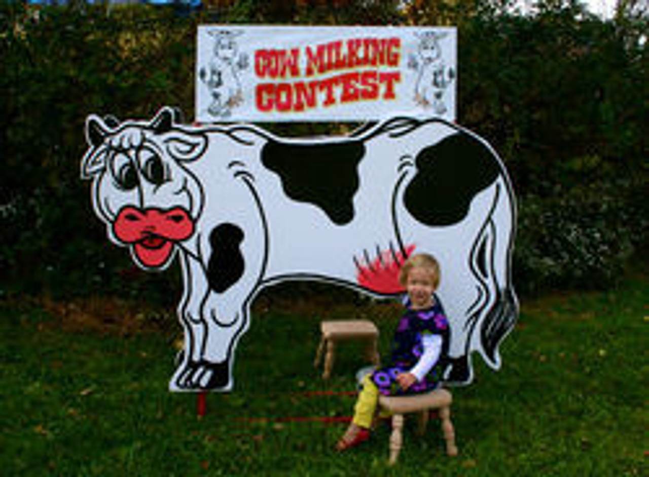 Cow Milking Contest Parts